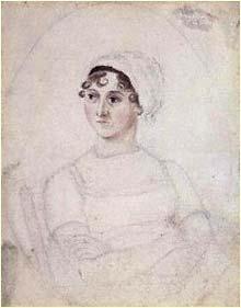 Jane Austen ritratta dalla sorella Cassandra © National Portrait Gallery